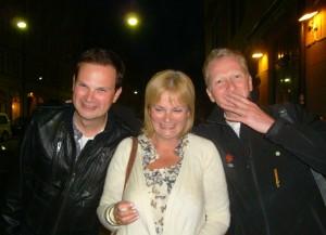 Nick, Angela & Pelle