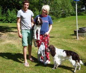 Stuart, Jenny & hundarna