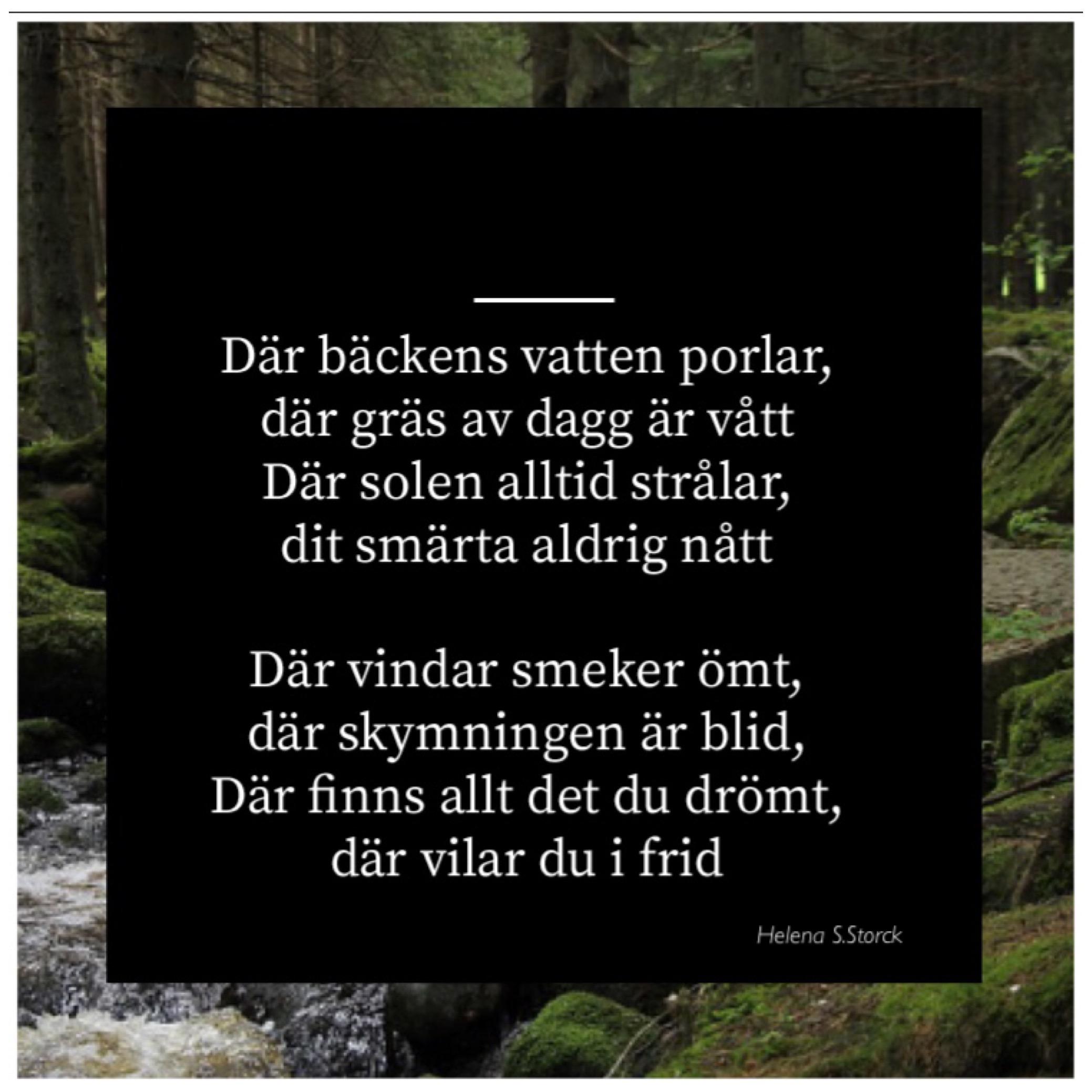 vila i frid dikt